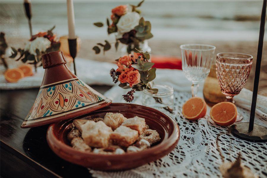 RAÍCES catering-boda-arabe
