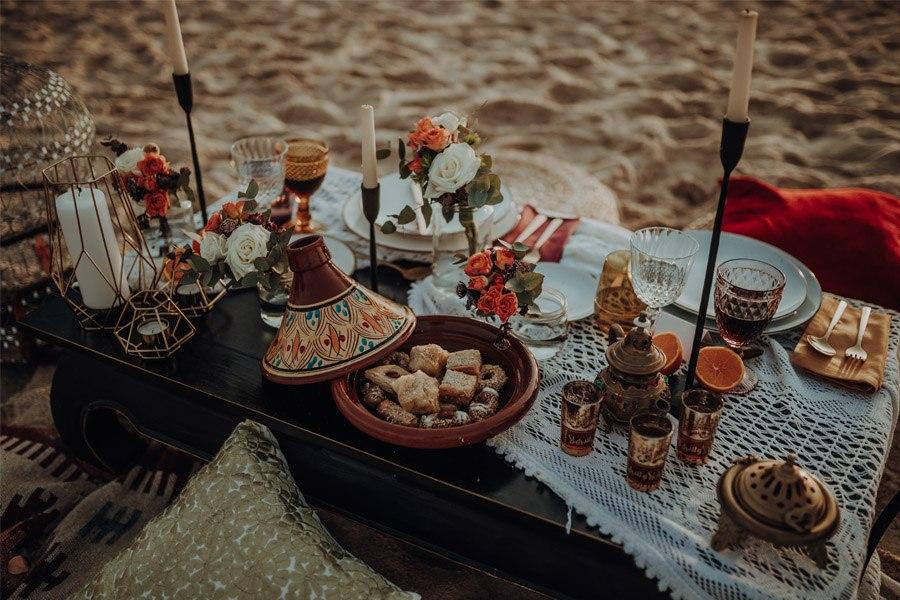 RAÍCES mesa-boda-boho