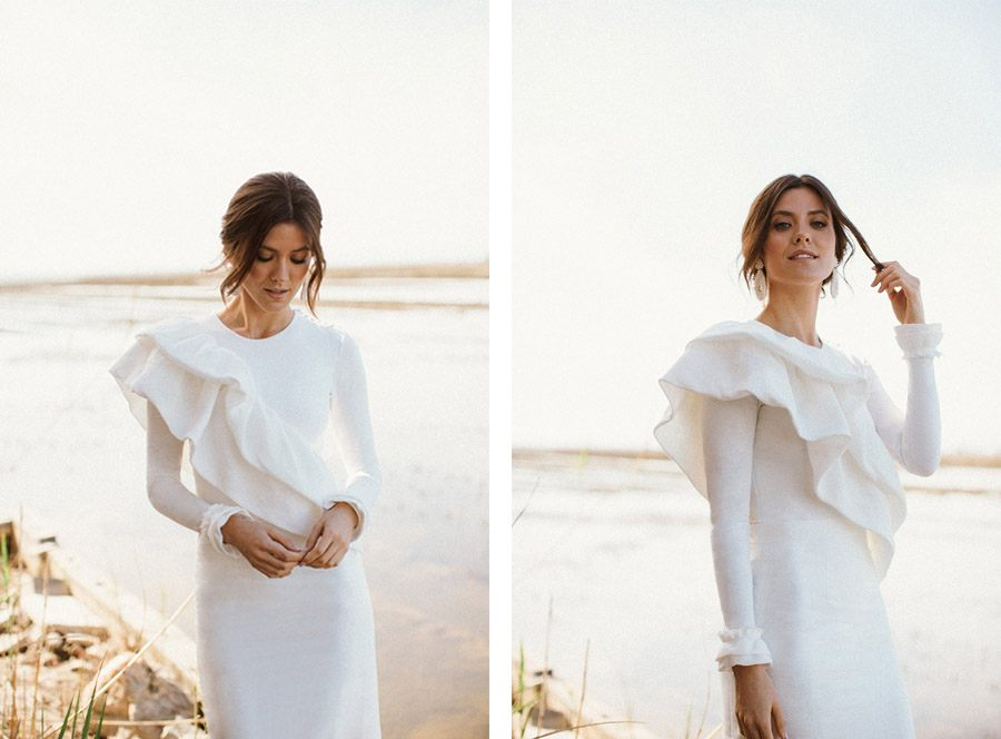 ALESTE PRESENTA SU PRIMERA COLECCIÓN DE MODA NUPCIAL SOSTENIBLE moda-sostenible-novias