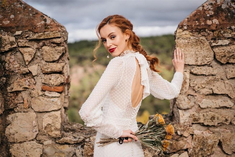 4 LOOKS DE NOVIA HOMENAJE A MUJERES INSPIRADORAS novia-con-trenza