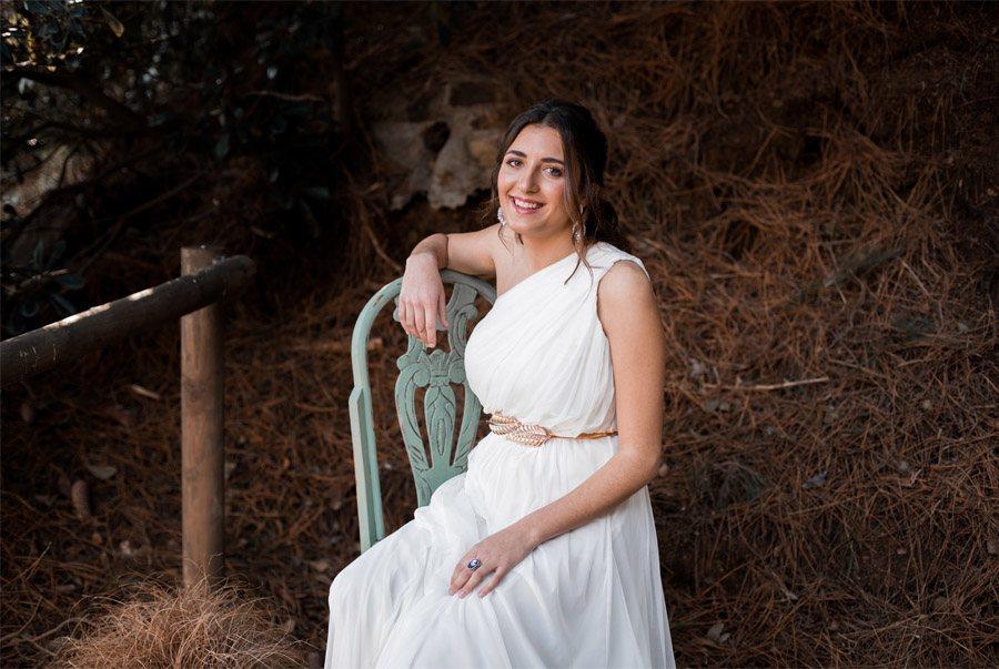 UNA NOVIA DE INSPIRACIÓN GRIEGA novia-griega