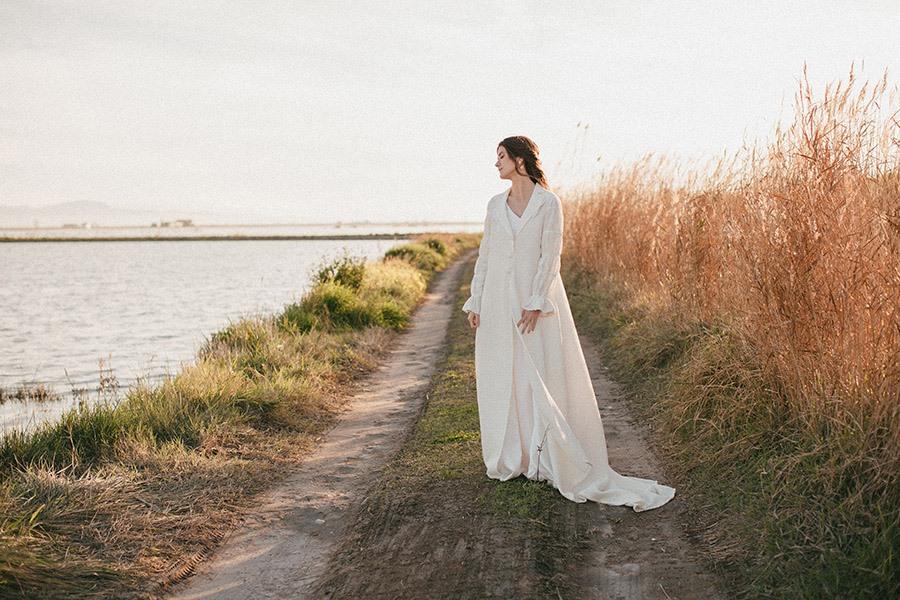 ALESTE PRESENTA SU PRIMERA COLECCIÓN DE MODA NUPCIAL SOSTENIBLE novia-sostenible