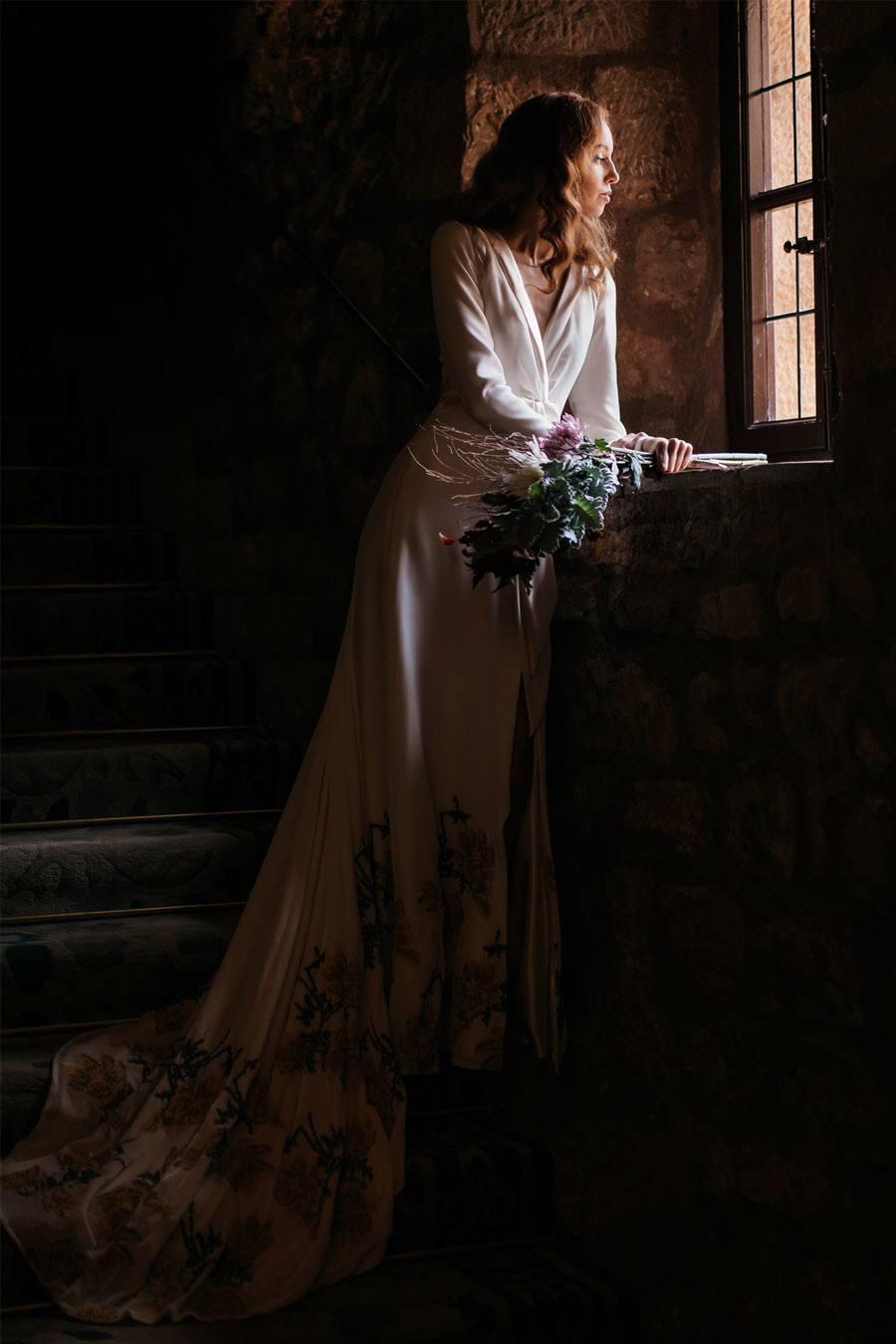 4 LOOKS DE NOVIA HOMENAJE A MUJERES INSPIRADORAS novia-vestido