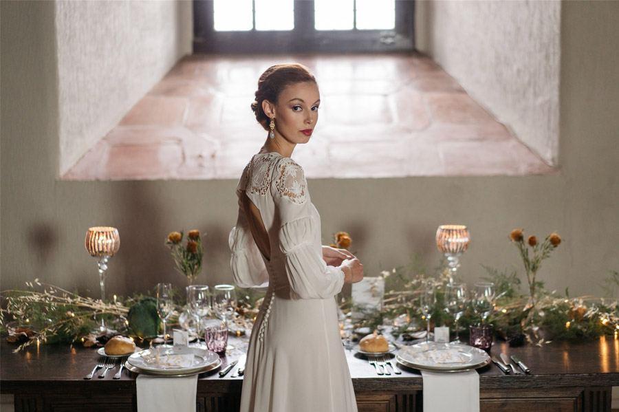 4 LOOKS DE NOVIA HOMENAJE A MUJERES INSPIRADORAS recogido-novia