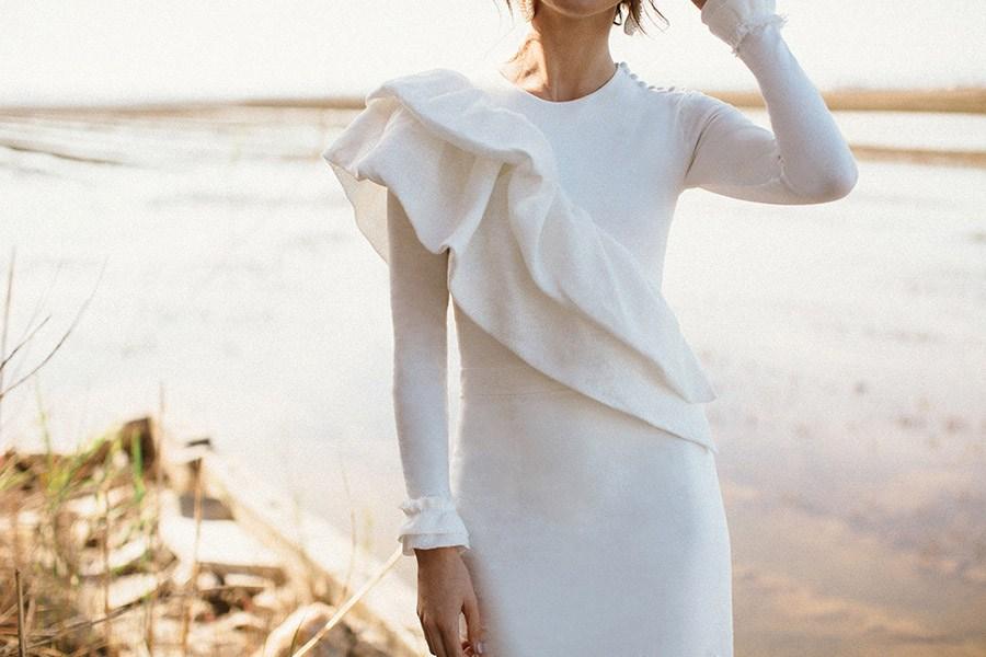 ALESTE PRESENTA SU PRIMERA COLECCIÓN DE MODA NUPCIAL SOSTENIBLE vestido-de-novia-sostenible