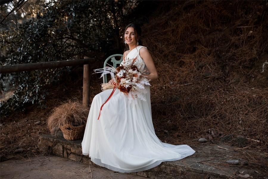 UNA NOVIA DE INSPIRACIÓN GRIEGA vestido-novia-griega