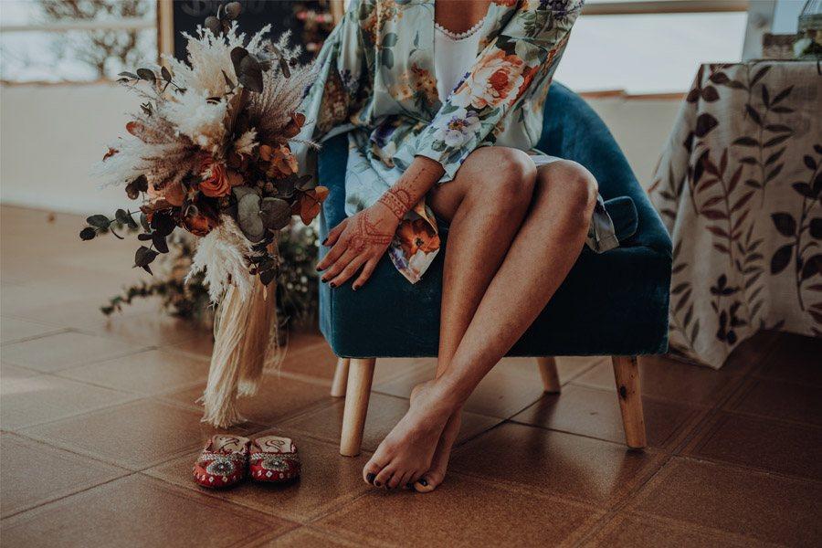 RAÍCES zapatillas-novia