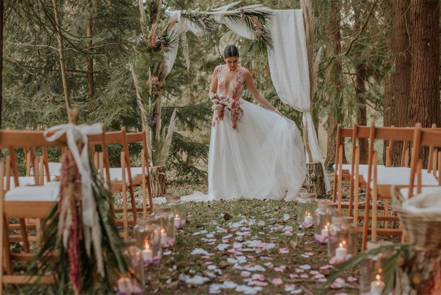 BODA MÁGICA EN EL BOSQUE bosque-ceremonia