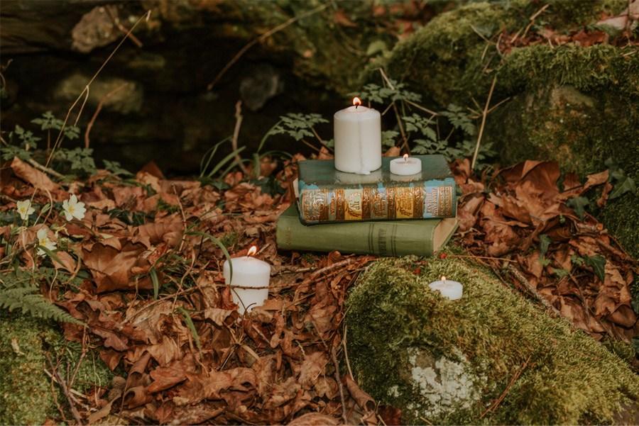 BODA MÁGICA EN EL BOSQUE decoracion-boda-bosque