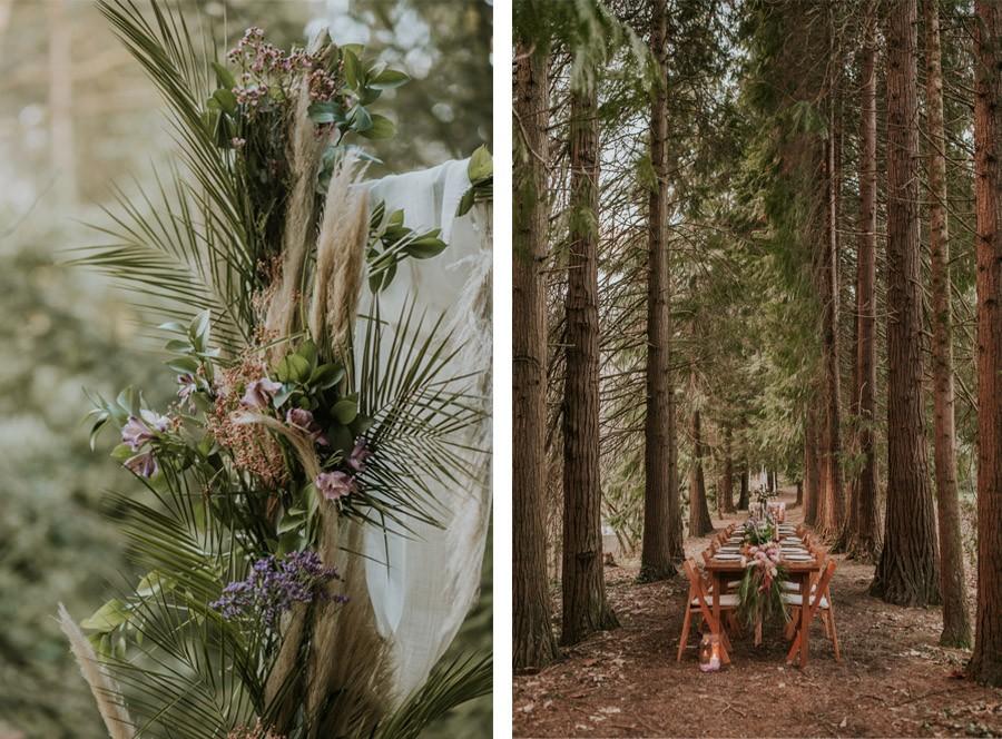 BODA MÁGICA EN EL BOSQUE decoracion-boda-rustica