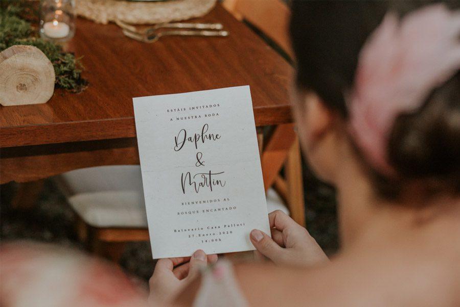BODA MÁGICA EN EL BOSQUE invitacion-boda-rustica