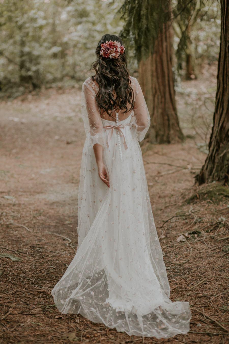 BODA MÁGICA EN EL BOSQUE novia-vestido