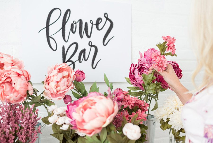 FLOWER BAR boda-flowerbar