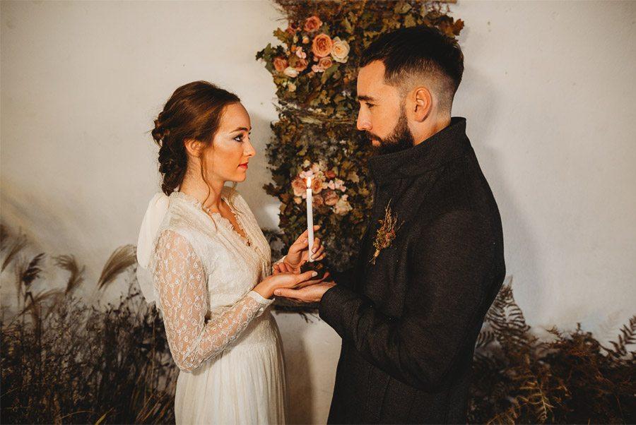 MARTA & BRUNO: EARTH ceremonia-boda