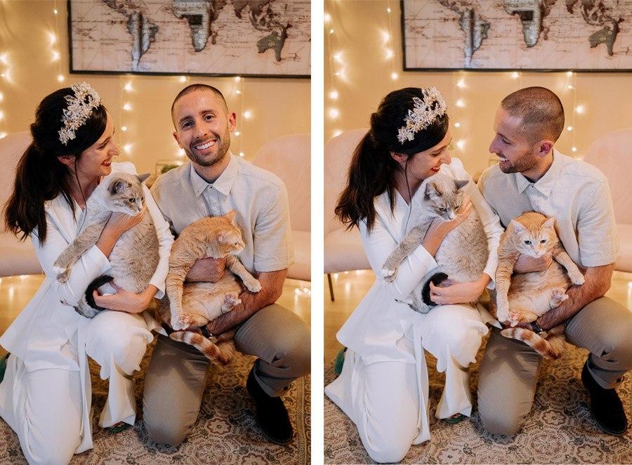 ERIKA & IVÁN: WEDDING LIVE mascotas-boda