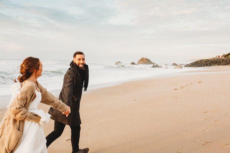 MARTA & BRUNO: EARTH playa-novios