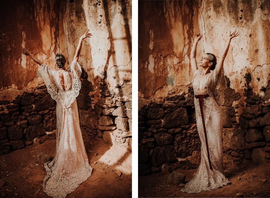 LAURE & MAURI: AMOR POR UNA ISLA vestidos-novia