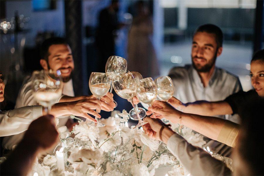 RAQUEL & PABLO: PROMESAS DE AMOR brindis-boda