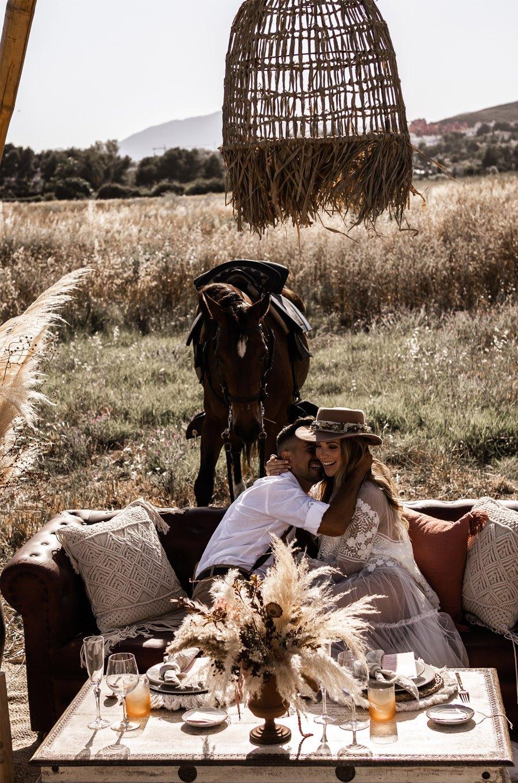 JESSICA & JUAN: WINDS OF LOVE boda-boho