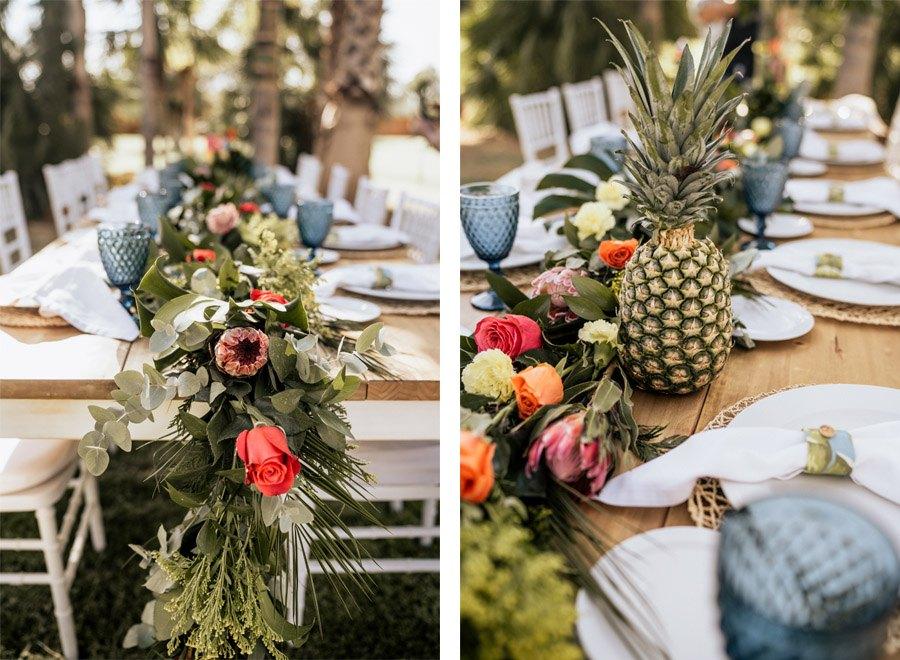 MALIBÚ SUNRISE decoracion-mesa-boda