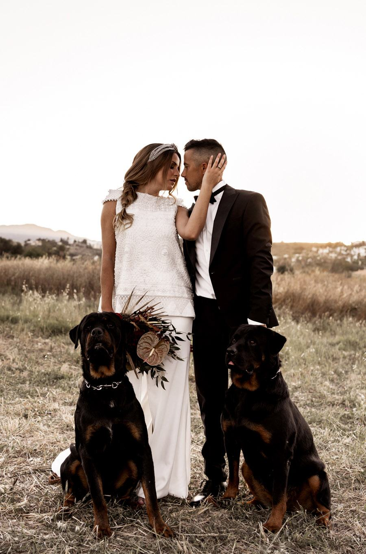 JESSICA & JUAN: WINDS OF LOVE mascota-novios