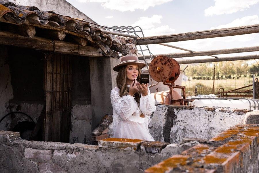 JESSICA & JUAN: WINDS OF LOVE novia-boho