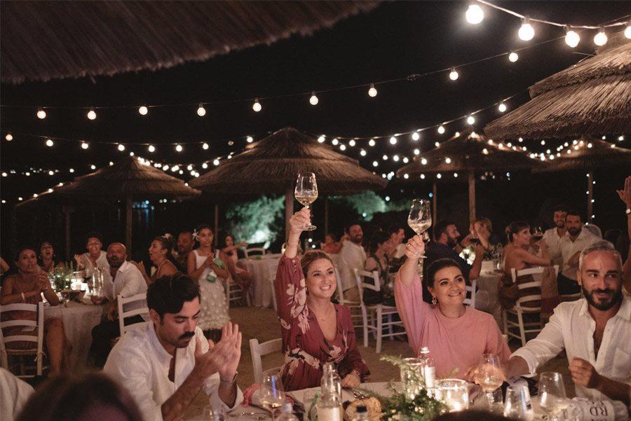SERENA & MASSIMO: AMOR DE VERANO banquete-boda