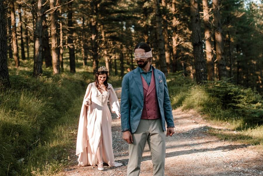 VERÓNICA Y AITOR: CUANDO EL AMOR TODO LO PUEDE boda-bosque