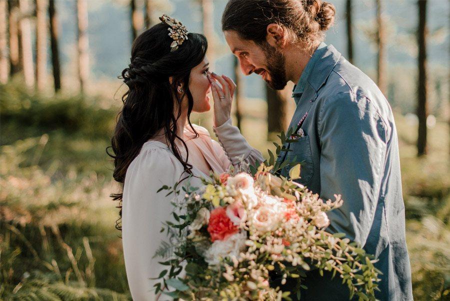 VERÓNICA Y AITOR: CUANDO EL AMOR TODO LO PUEDE boda-campo