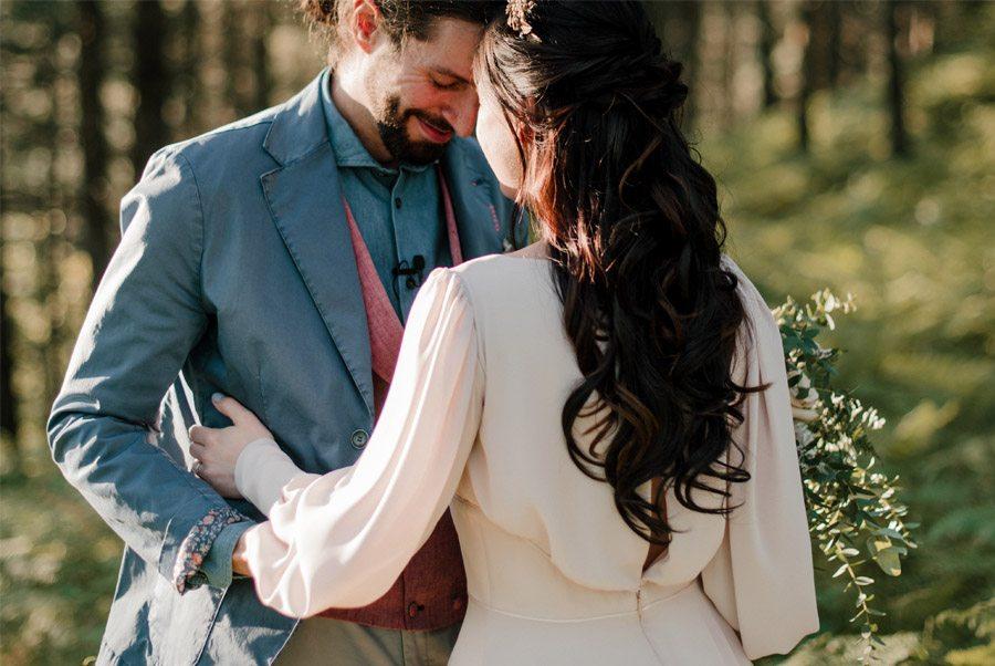 VERÓNICA Y AITOR: CUANDO EL AMOR TODO LO PUEDE boda-verde