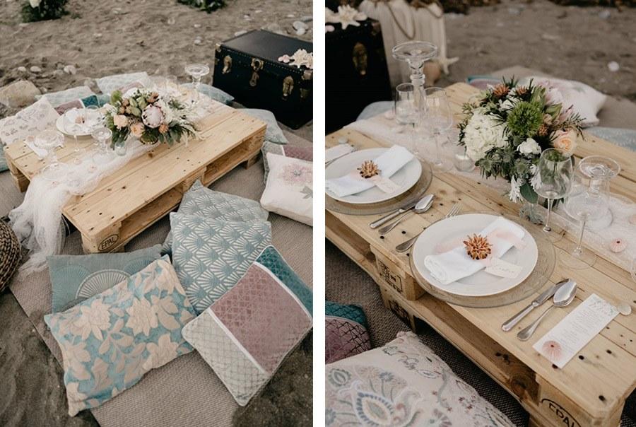 KAIROS, EL ARTE DE BUSCAR EL MOMENTO ADECUADO mesa-boda-playa
