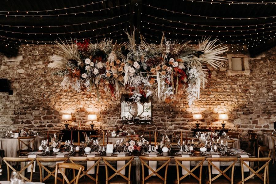 FLORINE & FLORIAN: ROMÁNTICA BODA DE OTOÑO boda-otono-mesa