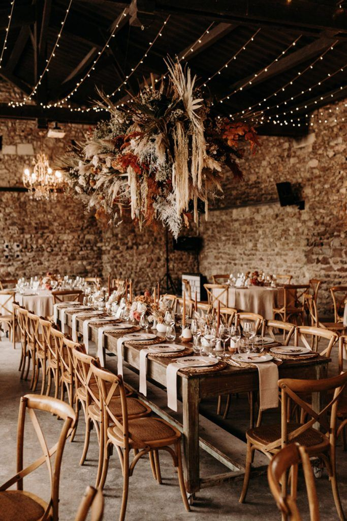 FLORINE & FLORIAN: ROMÁNTICA BODA DE OTOÑO decoracion-boda-otono-683x1024