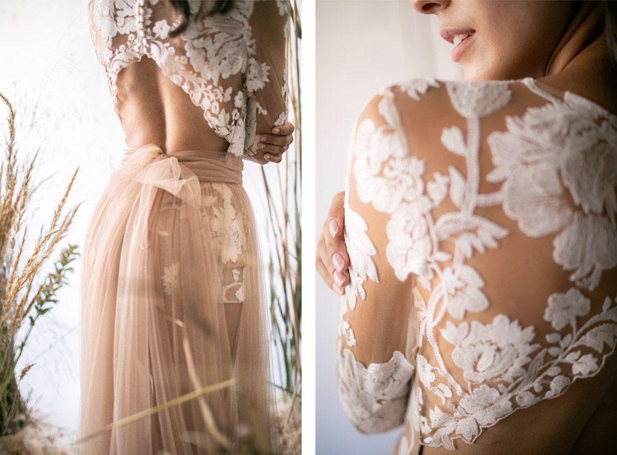 RUSTIC STYLE detalles-vestido-novia