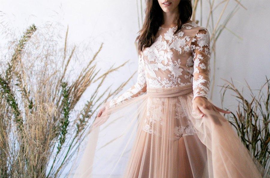 RUSTIC STYLE falda-tul-novia