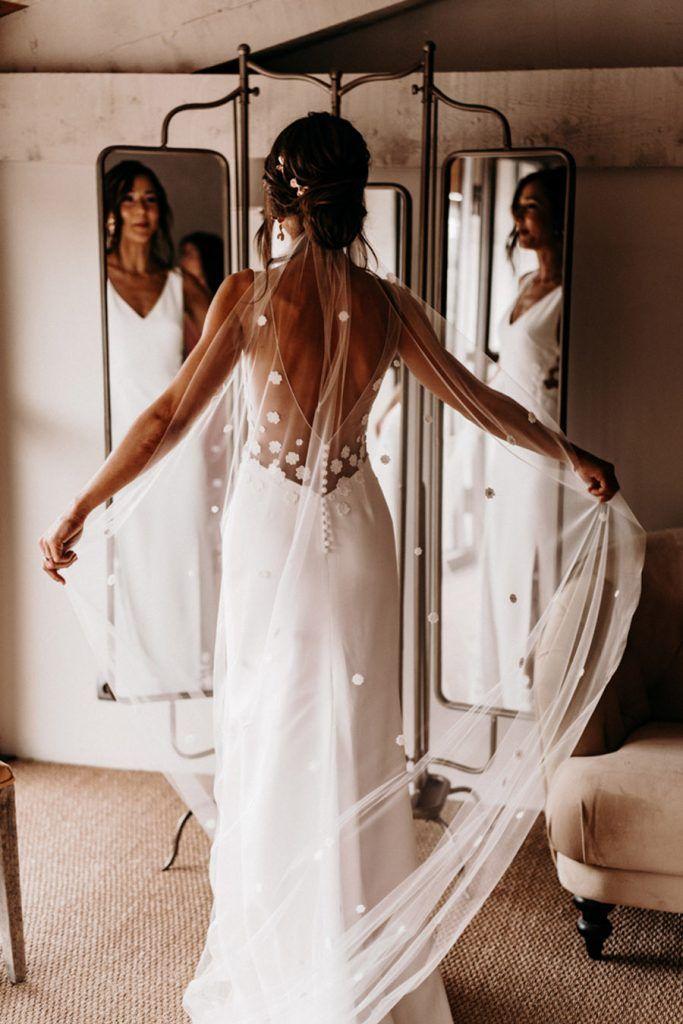 FLORINE & FLORIAN: ROMÁNTICA BODA DE OTOÑO novia-vestido-683x1024