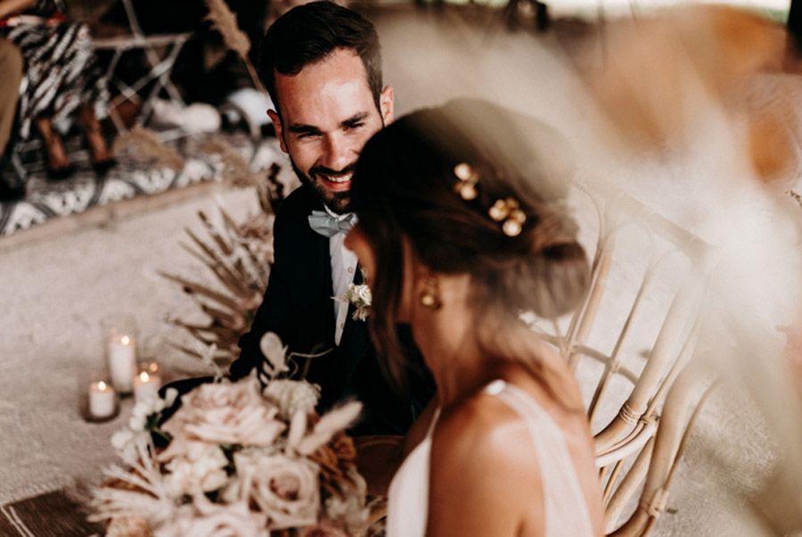 FLORINE & FLORIAN: ROMÁNTICA BODA DE OTOÑO novios-ceremonia-boda