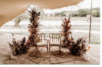 FLORINE & FLORIAN: ROMÁNTICA BODA DE OTOÑO otono-boda