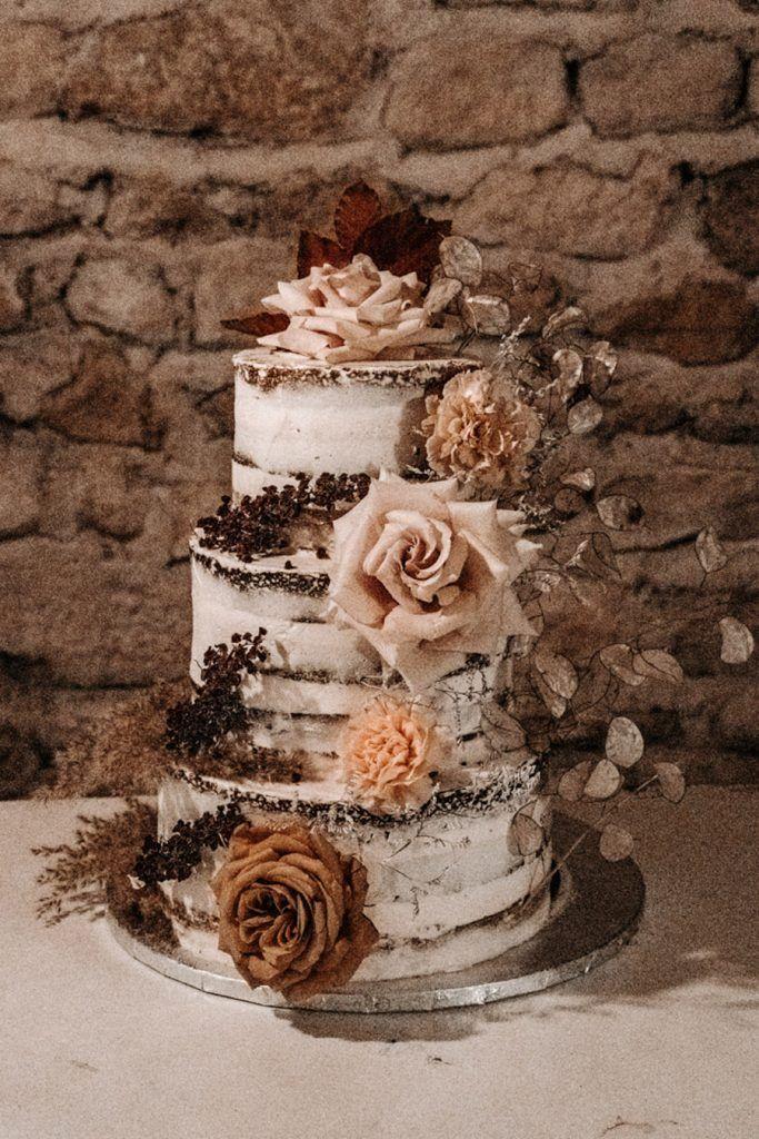FLORINE & FLORIAN: ROMÁNTICA BODA DE OTOÑO pastel-boda-683x1024