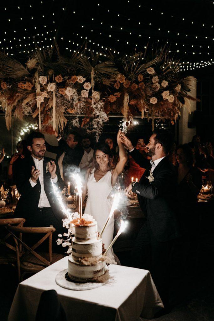 FLORINE & FLORIAN: ROMÁNTICA BODA DE OTOÑO tarta-boda-683x1024