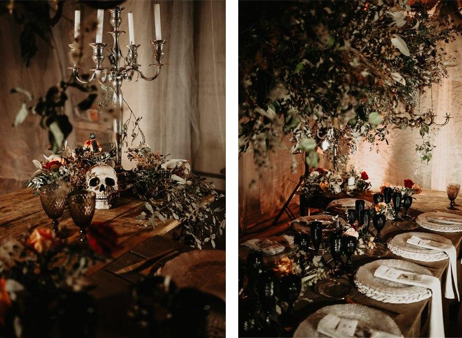 SAMHAIN, VIDA Y MUERTE, AMOR Y DOLOR decoracion-mesa-boda-otono