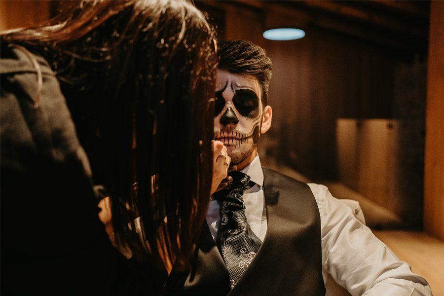 SAMHAIN, VIDA Y MUERTE, AMOR Y DOLOR maquillaje-samhain-boda