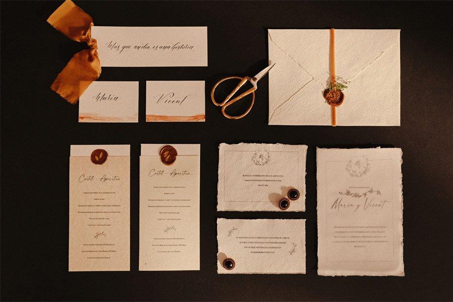 CÓ.MPLICES DE OTOÑO papeleria-boda