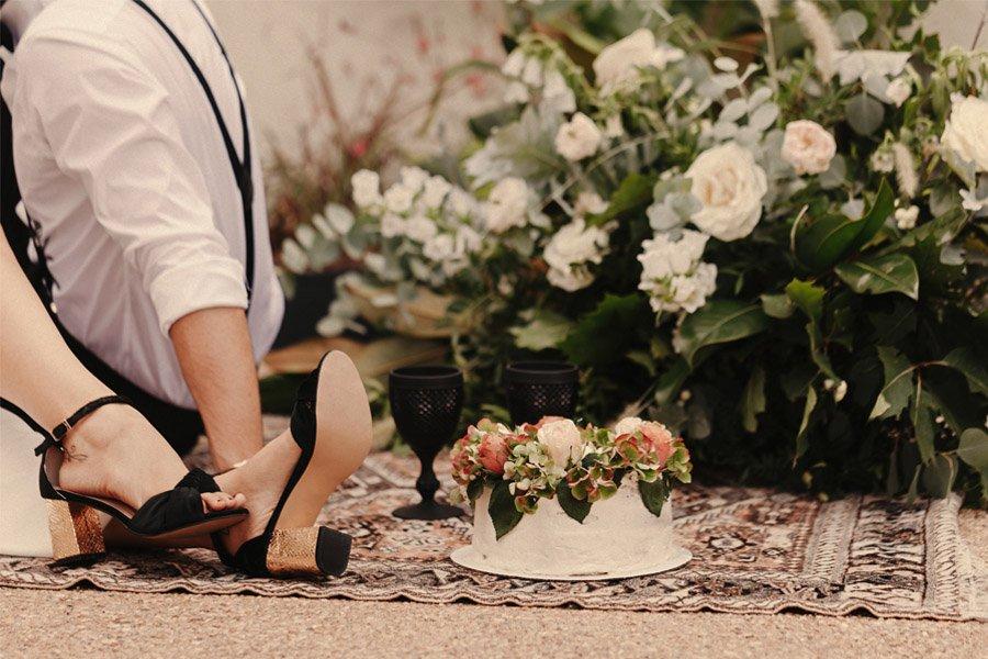 CÓ.MPLICES DE OTOÑO pastel-boda