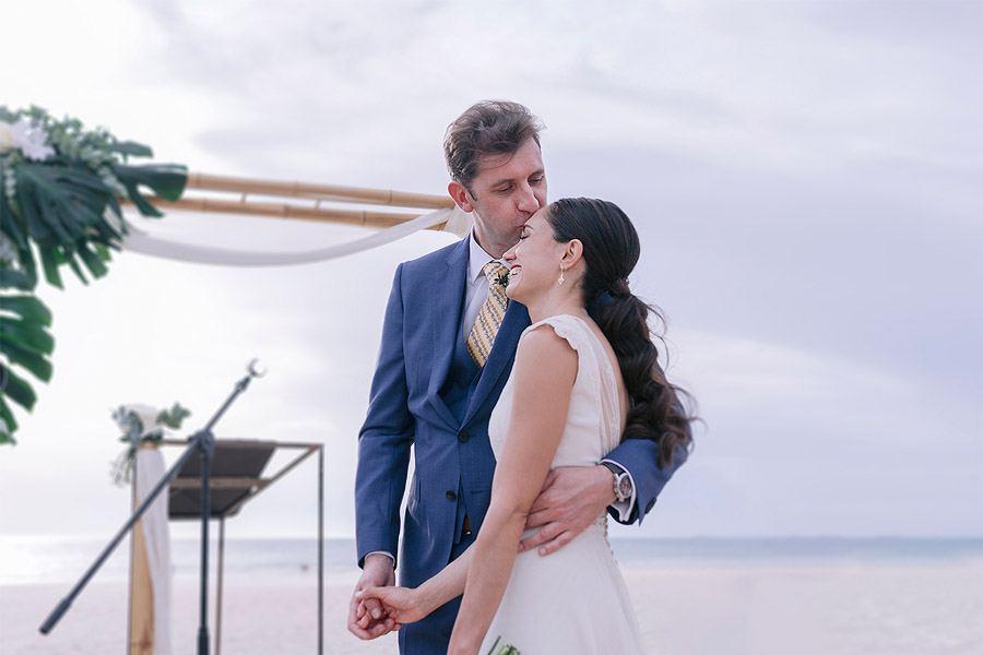 ENRIQUE & MADAY: ¡GRACIAS! boda-playa