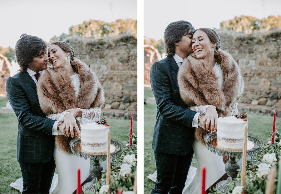 ¡OH MERRY LOVE! tarta-boda