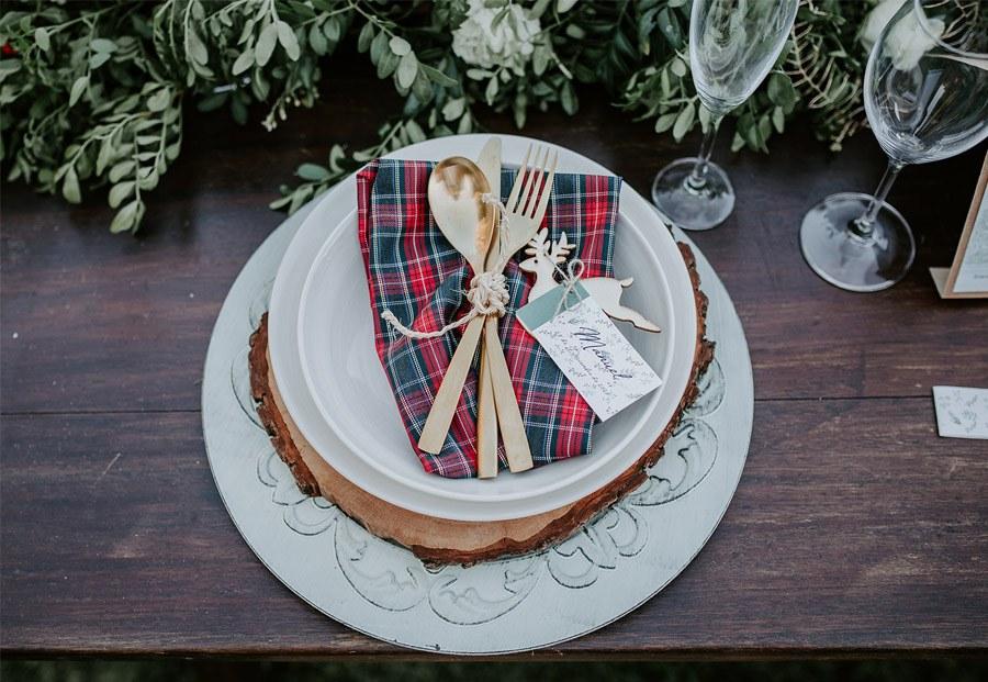¡OH MERRY LOVE! vajilla-boda-invierno