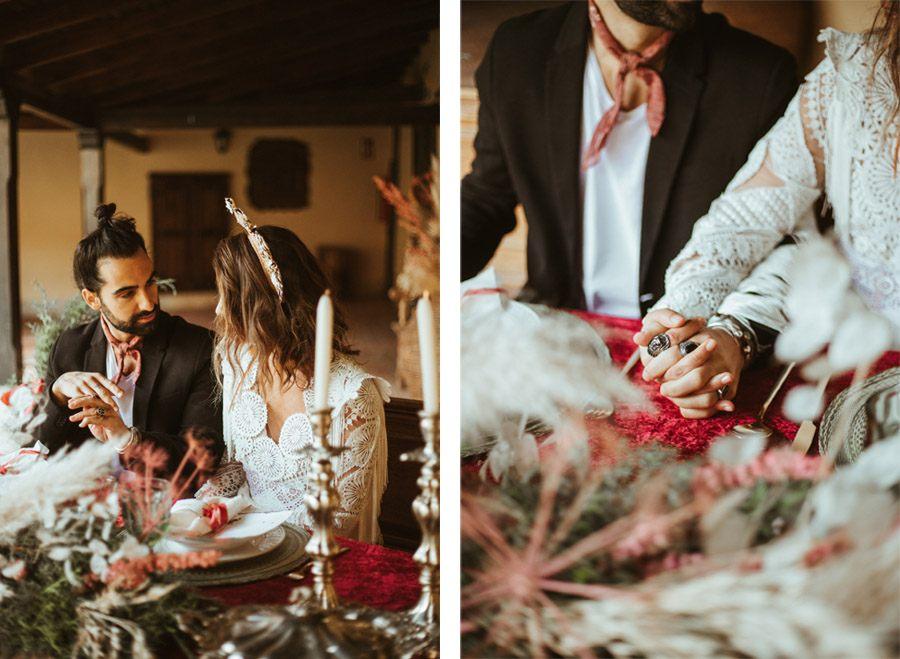 BODA EN UN CASERÍO CASTELLANO mesa-boda