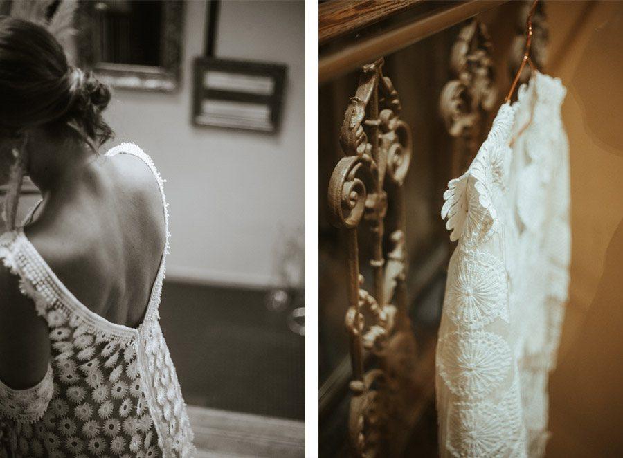 BODA EN UN CASERÍO CASTELLANO vestido-novia