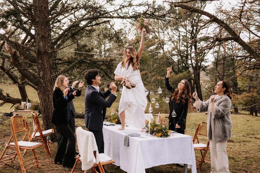 UNA BODA ÍNTIMA EN EL MONTE VASCO fiesta-boda